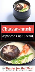 chawan-mushi Japanese cup custard
