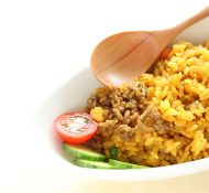 japanese dry curry pilaf