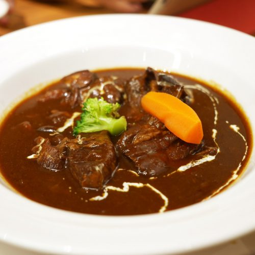 Japanese beef tongue stew