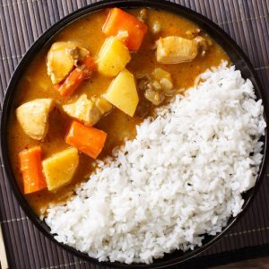 Japanese chicken curry recipe